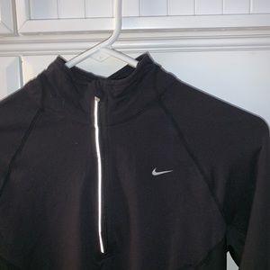 Nike Dri- Fit Long Sleeve Half Zip Pullover
